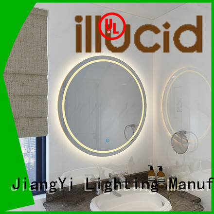 round led bathroom mirror light living room JiangYi