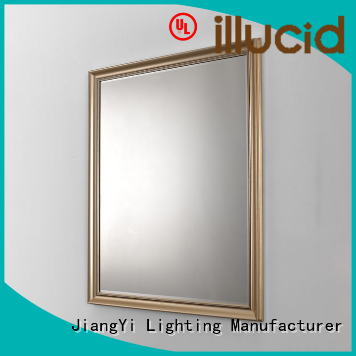 rectangle led bathroom mirror