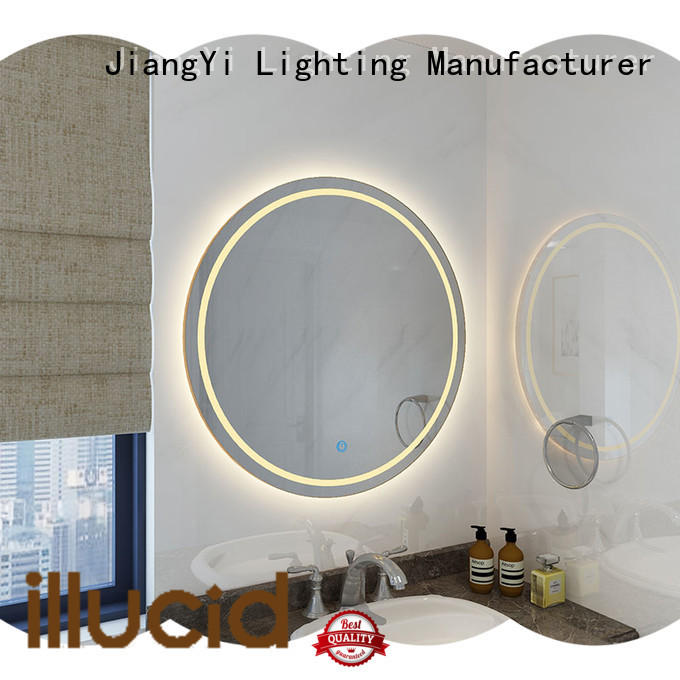 JiangYi electric round led mirror light at home