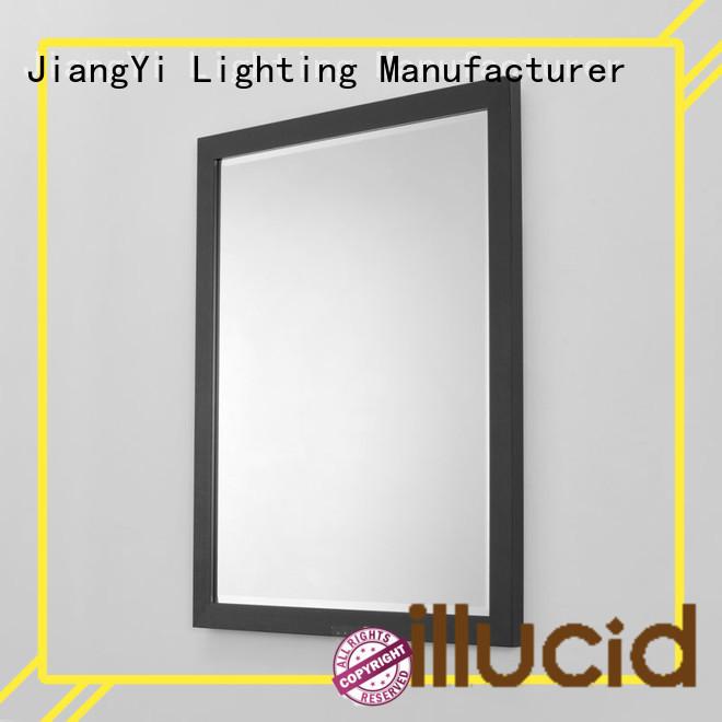 JiangYi rectangle led mirror at home