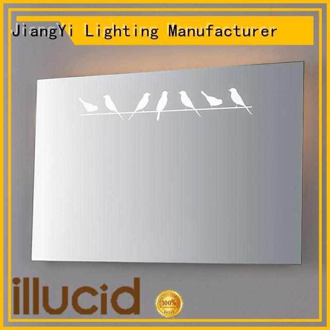 JiangYi electric rectangle led bathroom mirror mirrors bathroom