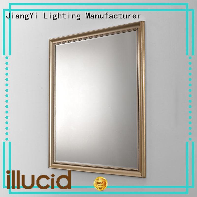JiangYi led rectangle led mirror lighting bathroom