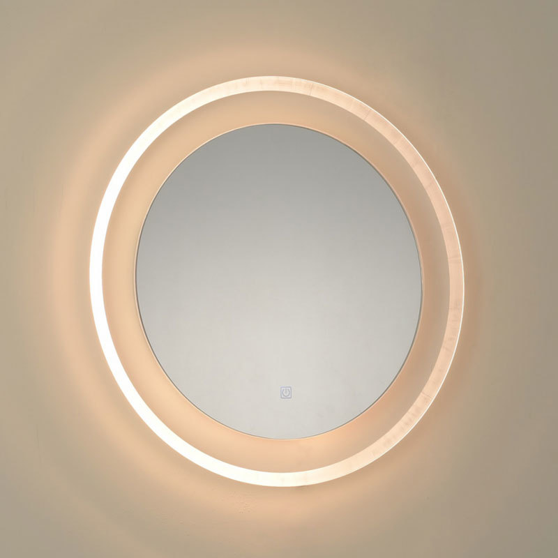 3011A Round LED Backlit Mirror With Acrylic