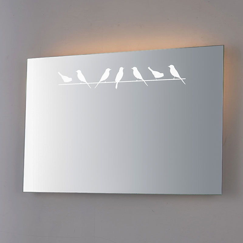 led backlit vanity mirror & rectangle led mirror