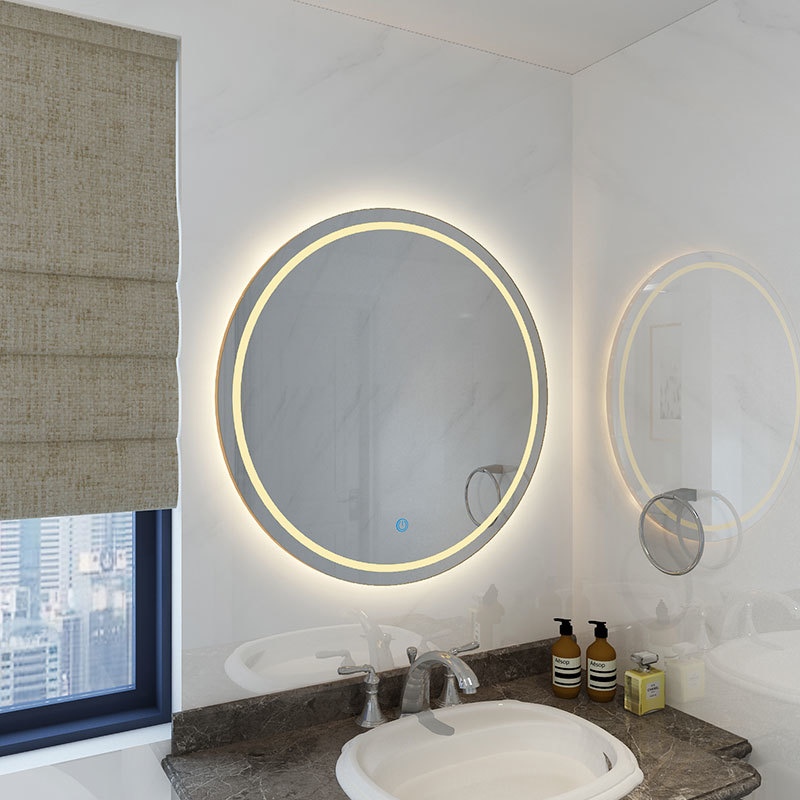 4004 LED Bathroom Round Mirror