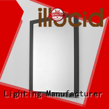 rectangle led mirror light make up