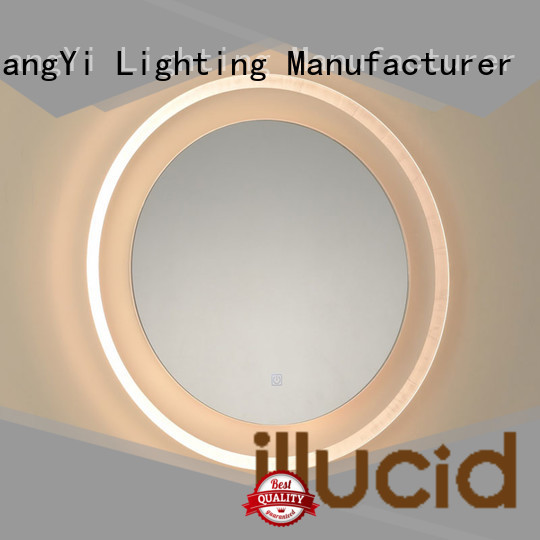JiangYi led led lights around mirror mirrors make up
