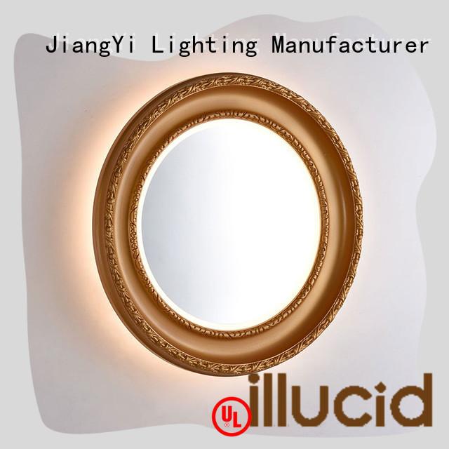 JiangYi oval led mirror