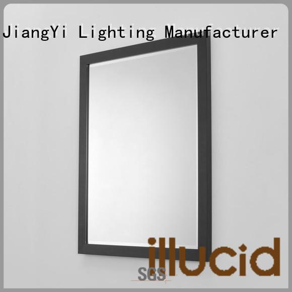 JiangYi rectangle led mirror lighting at home