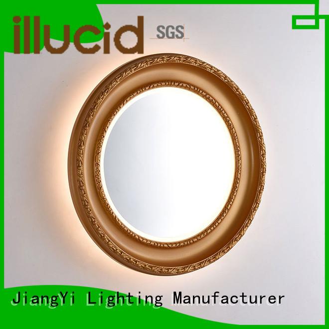 oval led mirror light