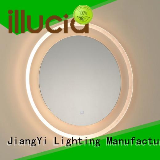 electric led circle mirror mirrors make up