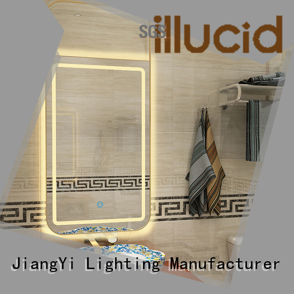 JiangYi rectangle led mirror lighting make up
