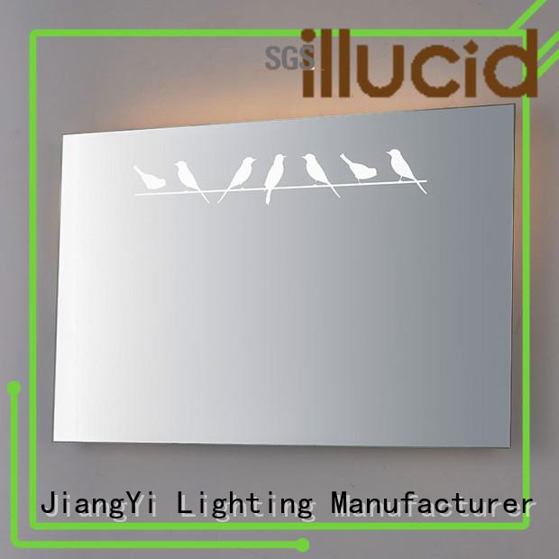 JiangYi modern rectangle led mirror mirror at home