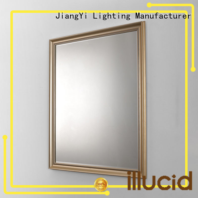electric rectangle led mirror bathroom