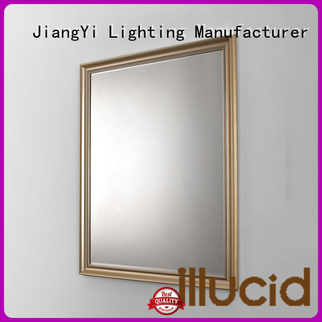 circular illuminated mirror