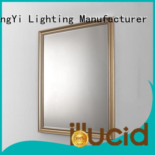 JiangYi led led backlit bathroom mirror make up