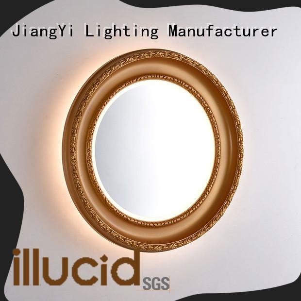 modern oval led bathroom mirror light make up
