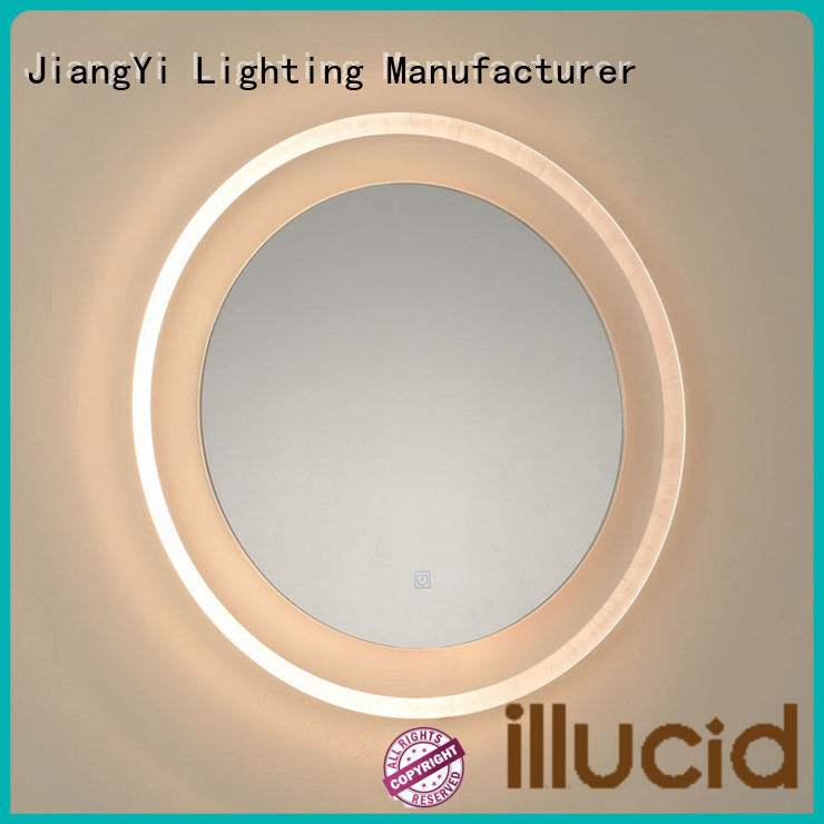 JiangYi led lights around mirror light living room
