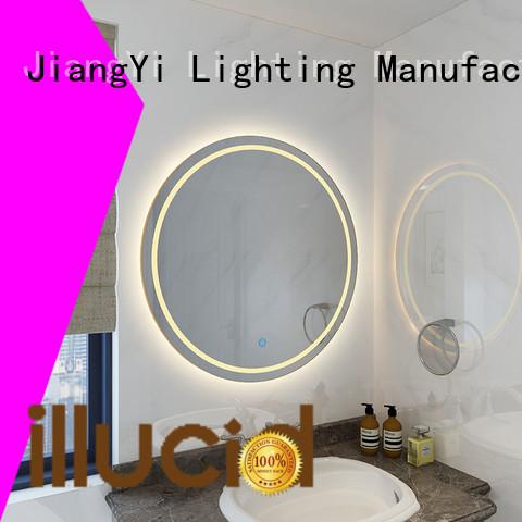 electric cheap light up mirror mirrors bathroom
