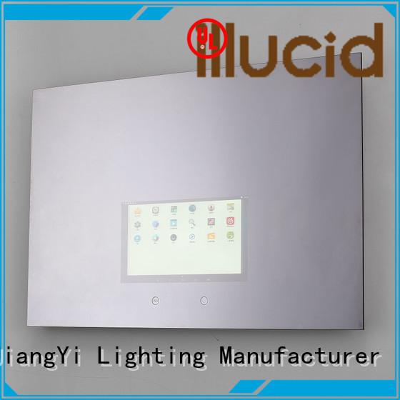 JiangYi rectangle led bathroom mirror lighting living room