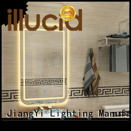 rectangle led mirror light at home
