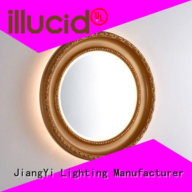 JiangYi oval led bathroom mirror light bathroom