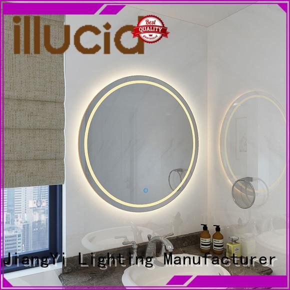 JiangYi led circle mirror mirror