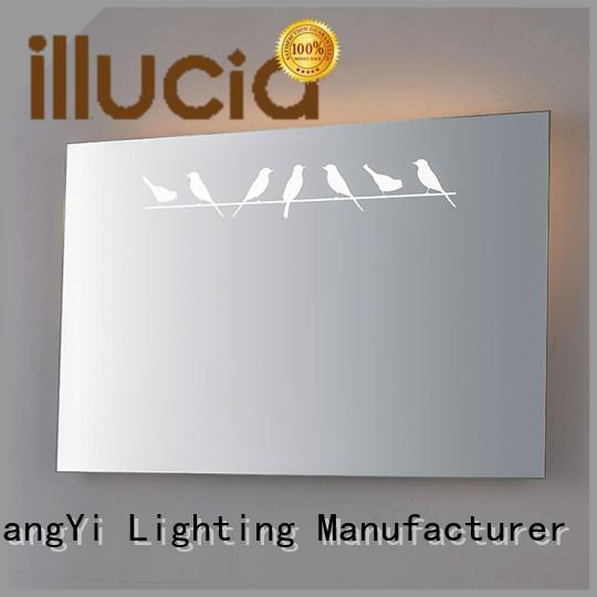 JiangYi rectangle led mirror mirror living room