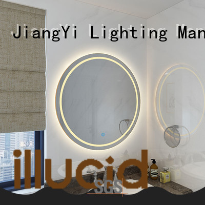 JiangYi electric led lights around mirror mirrors at home