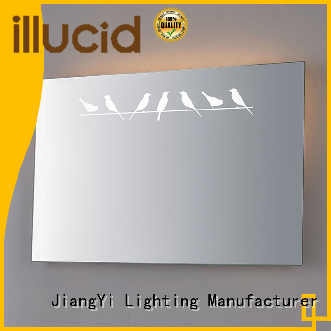 electric rectangle led mirror light living room