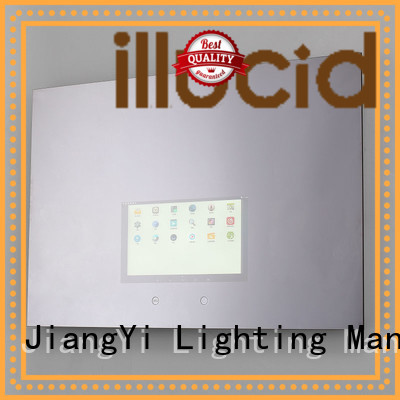 JiangYi best rectangle led mirror lighting living room