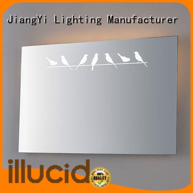 JiangYi rectangle led mirror light at home