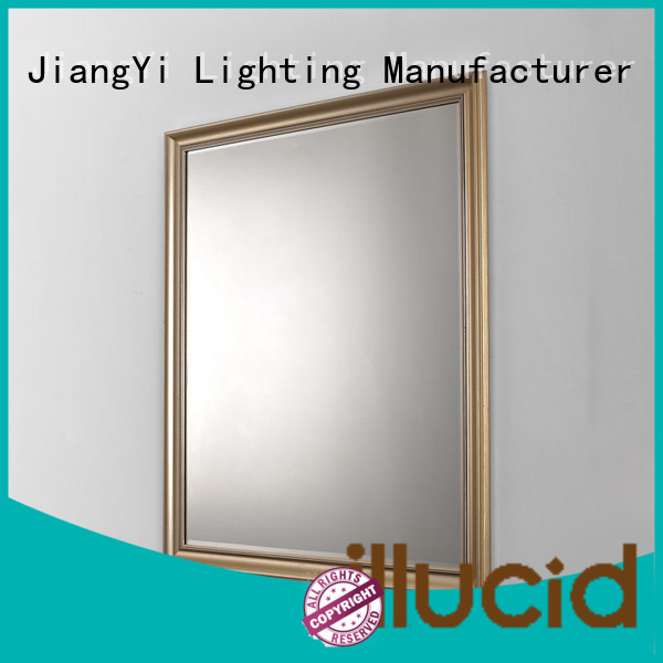 JiangYi best rectangle led mirror mirrors at home