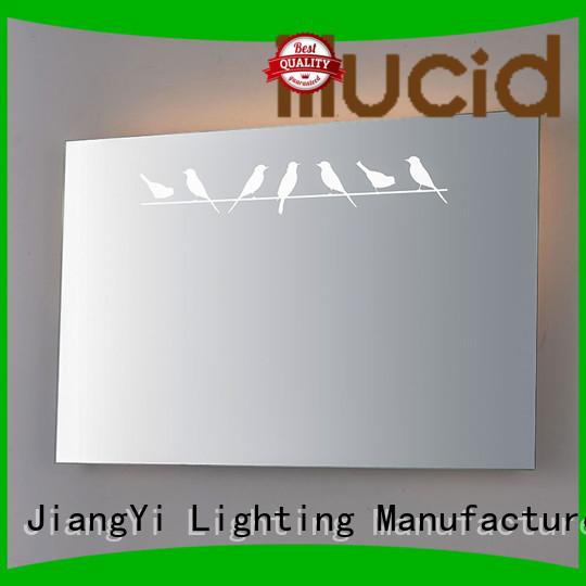 JiangYi rectangle led bathroom mirror mirrors living room