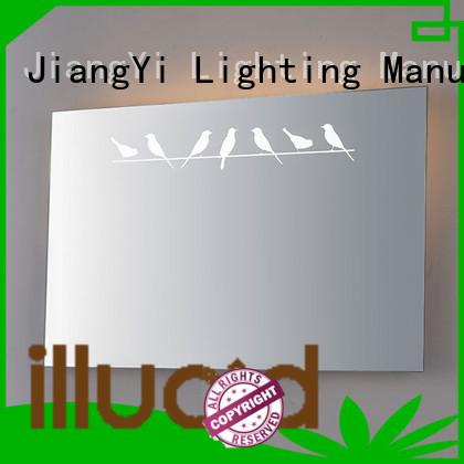 led rectangle led bathroom mirror make up