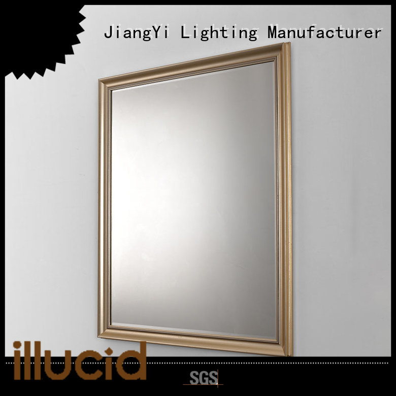 JiangYi rectangle led bathroom mirror mirror living room