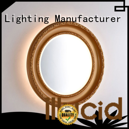 oval led mirror