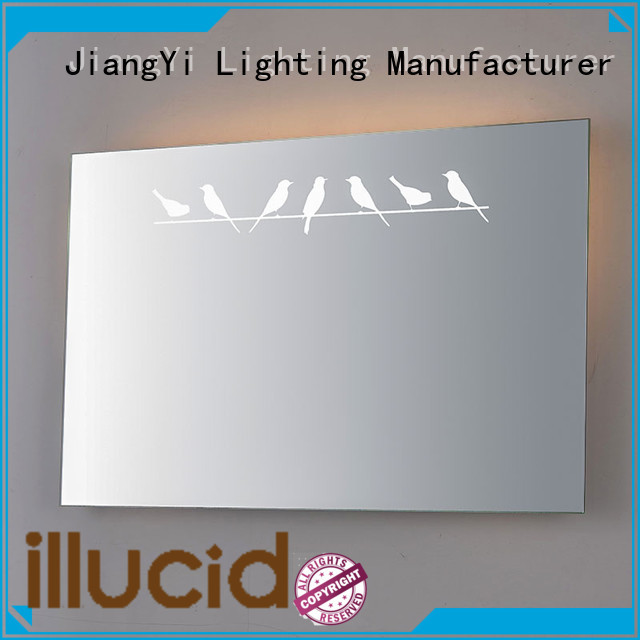 JiangYi electric rectangle led bathroom mirror light