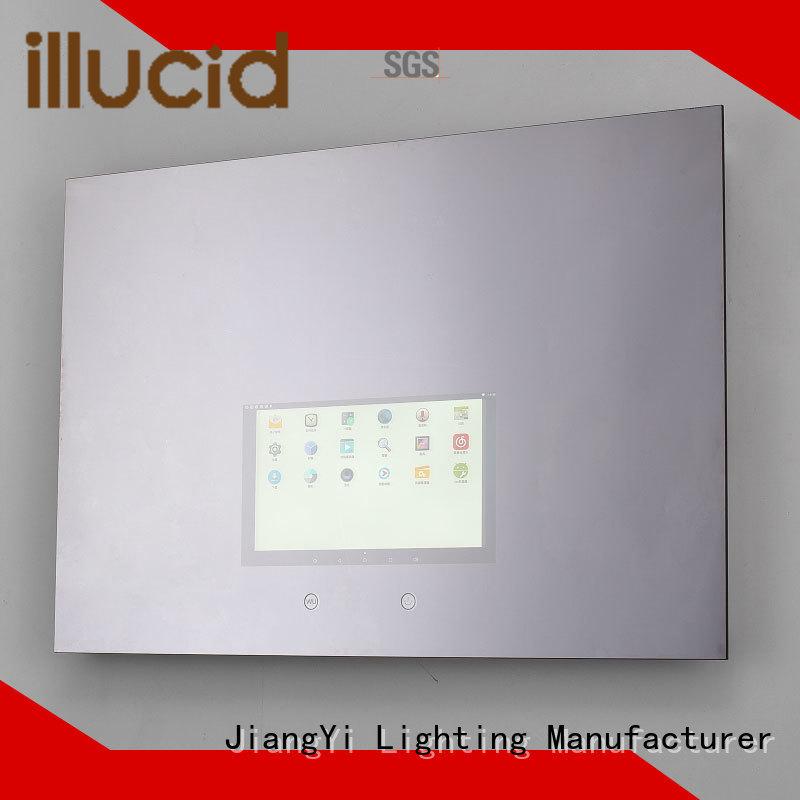 JiangYi modern rectangle led mirror mirror make up