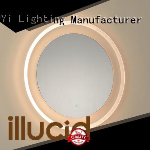 JiangYi round led mirror lighting