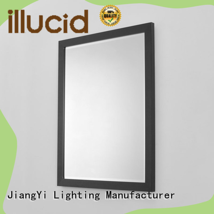 JiangYi electric rectangle led bathroom mirror living room