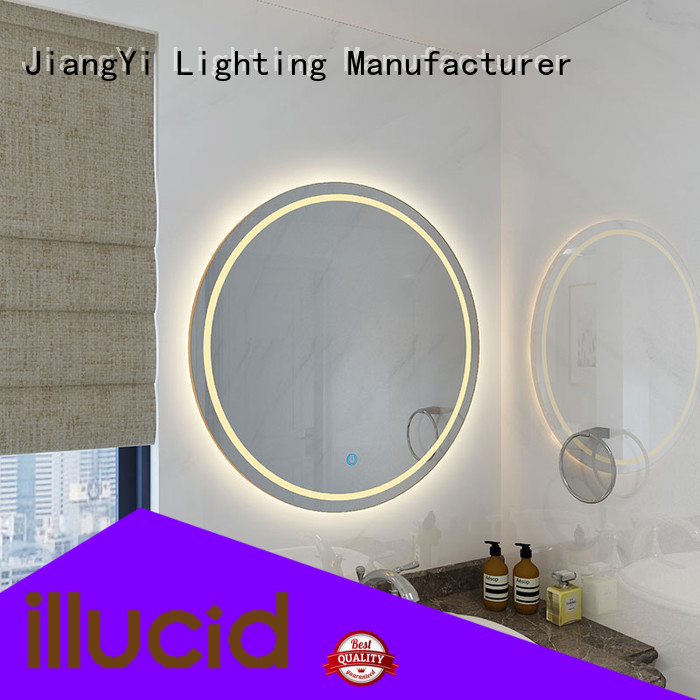 JiangYi led led circle mirror mirror at home