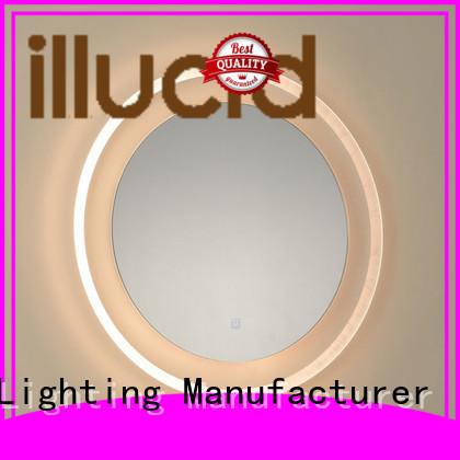 JiangYi led lights around mirror mirrors bathroom