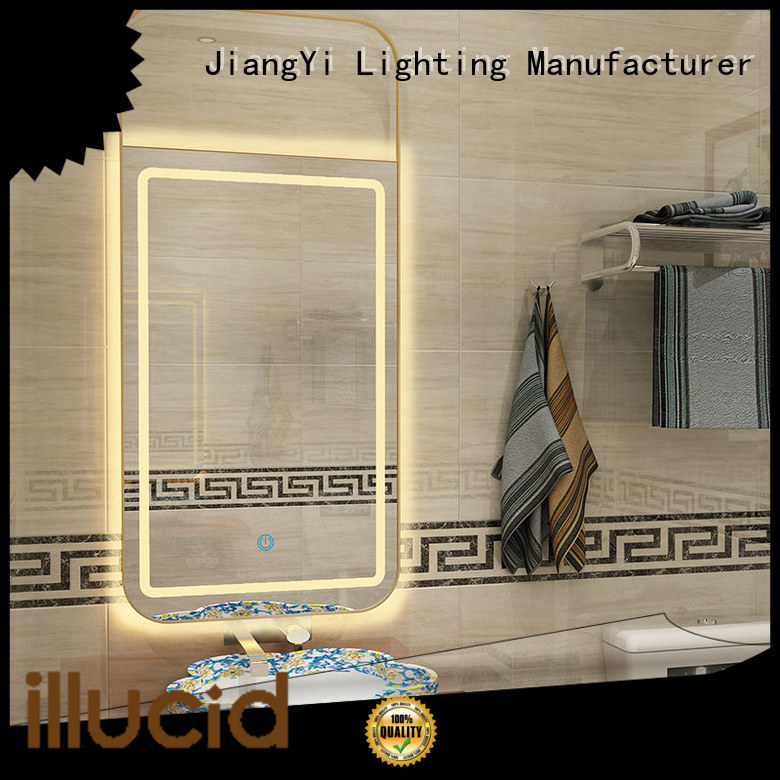 JiangYi rectangle led mirror lighting