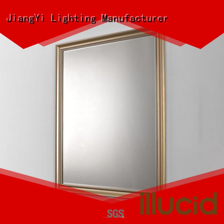 JiangYi led rectangle led bathroom mirror lighting make up