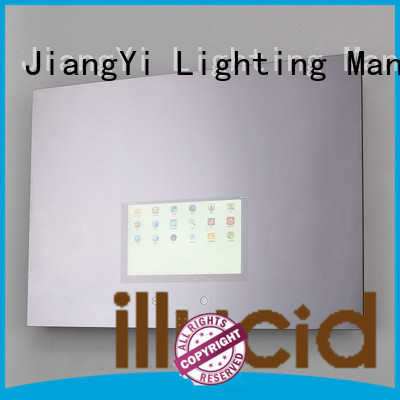 rectangle led mirror make up JiangYi