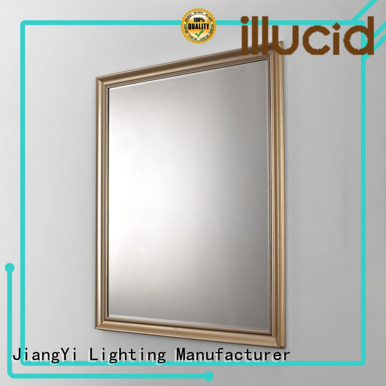 rectangle led mirror living room JiangYi