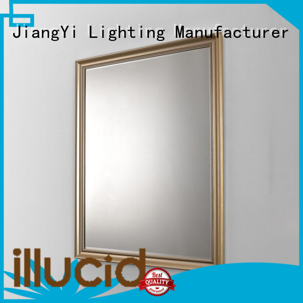 JiangYi modern rectangle led bathroom mirror living room
