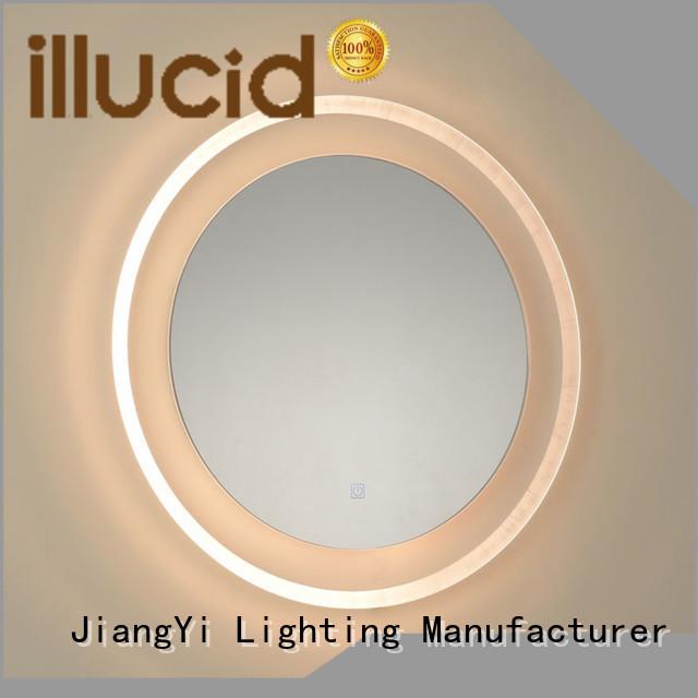 JiangYi round led mirror light make up