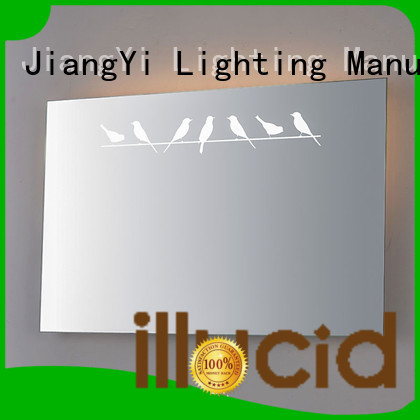 JiangYi rectangle led bathroom mirror lighting bathroom